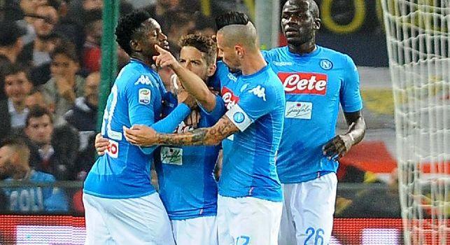 Genoa-Napoli, le pagelle: Mertens <i>disegna calcio</i>, Chiriches <i>muraglia</i>! Diawara <i>a-la-Yaya</i>, che rischi Hysaj