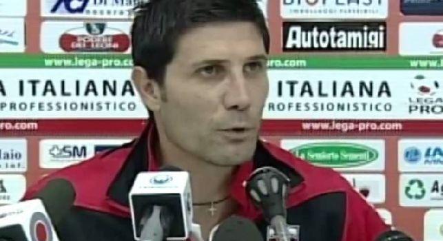 Casertana, Fontana: Sono stato vicino alle giovanili del Napoli, ho parlato con Grava. Poi è arrivata l'accelerata della Casertana, in futuro potrei tornare in azzurro