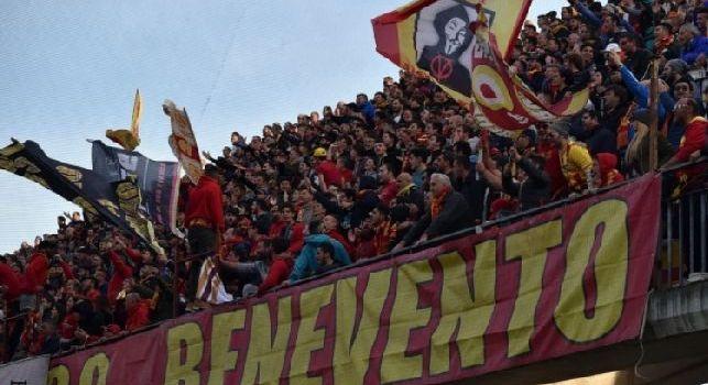 Benevento-Lazio 0-3, fine primo tempo: ennesima umiliazione, ma che atteggiamento dei tifosi sanniti!