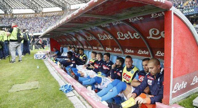 Napoli - Man City, saranno 4 gli azzurri che si accomodano in Tribuna: ecco i nomi