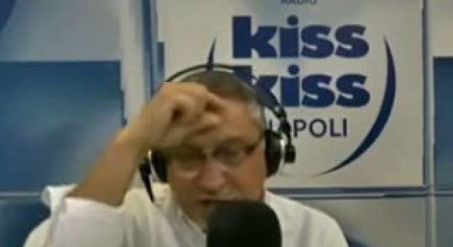 Non critichi mai il Napoli!, Alvino ironizza: ADL mi paga, sto nel suo stato di famiglia e tratto il rinnovo [VIDEO]