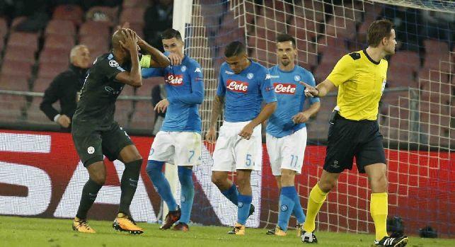 Napoli-Manchester City, le pagelle: Insigne show, Koulibaly-Albiol muri! Jorginho freddo, Hamsik e Callejon annebbiati