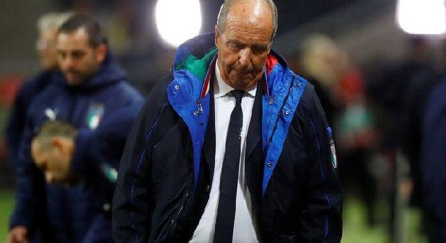 Ventura sconsolato dopo l'eliminazione dell'Italia