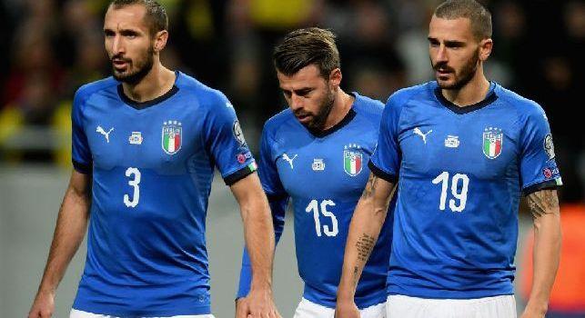 Francia-Italia, 2-1 a fine primo tempo: avvio spaventoso dei francesi, la riapre Bonucci
