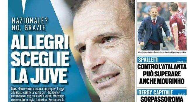 Tuttosport in prima pagina: Insigne trascina il Napoli, Milan quanto pesa il 6° ko [FOTO]