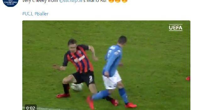 Anche l'UEFA elogia il numero di Mario Rui! [VIDEO]