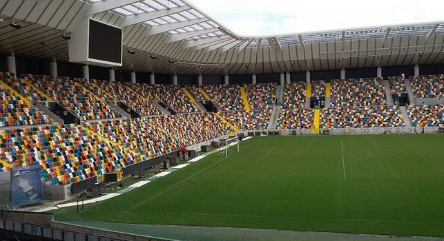 Dacia Arena, tutto esaurito per Udinese-Napoli: vola la prevendita dei biglietti