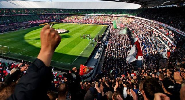 UFFICIALE - Feyenoord-Napoli, tutto esaurito al De Kuip: sarà una vera bolgia