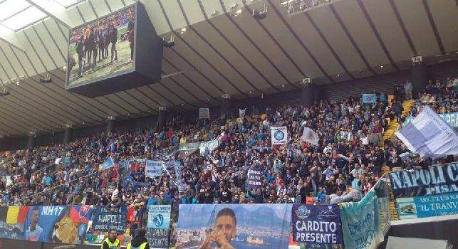 Udine, il questore: Voglio lanciare un messaggio rassicurante, Udinese-Napoli sia la festa dello sport! L'ostilità tra tifosi nasce da episodi futili