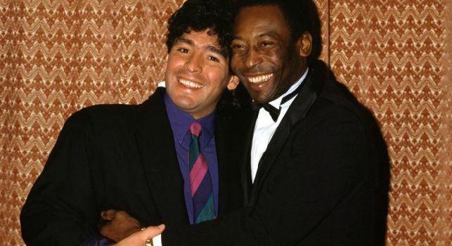 Pelè ammette: Maradona era più forte di Messi