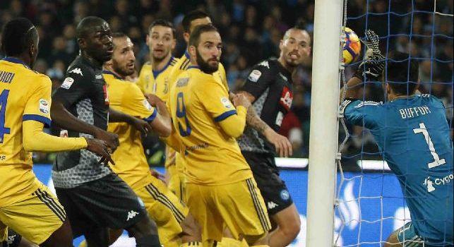 Napoli-Juventus, le pagelle: Reina baluardo, Mertens <i>schiantato</i>! Hamsik <i>brutto</i>, Mario Rui <i>fiacco</i>