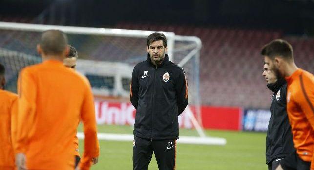 Shakhtar Donetsk, Fonseca: Roma? Il Napoli è la squadra più forte d'Italia, non sottovaluteremo i giallorossi