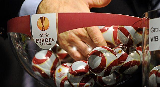 Europa League, il Napoli attende l'avversario ai 16esimi: stasera potrebbero aggiungersi tre rivali temibili al sorteggio