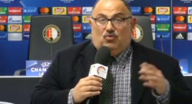 Iannicelli torna su Sarri: Voglio invitarlo a mangiare una pizza, sceglierebbe sicuramente una capricciosa. E' un patrimonio del Napoli