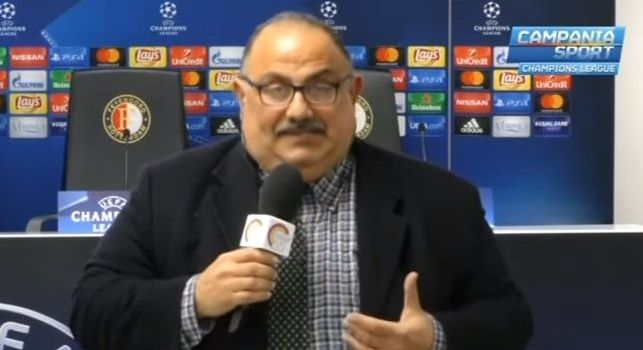 Iannicelli: Perdere aiuta a perdere, l'idea di mollare le competizioni non è vincente. Benitez ha vinto due trofei, Sarri no