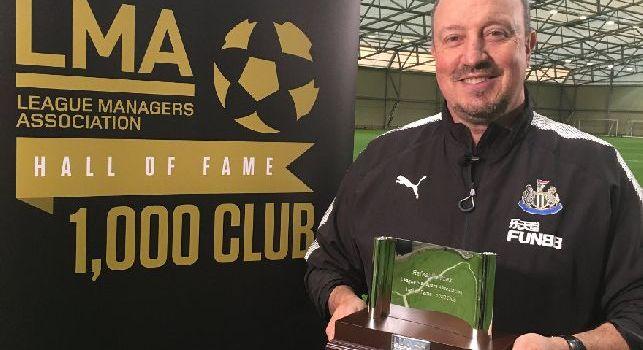 Rafa Benitez entra nella 'LMA's Hall of Fame', primo allenatore spagnolo della storia a raggiungere le mille panchine in Premier League