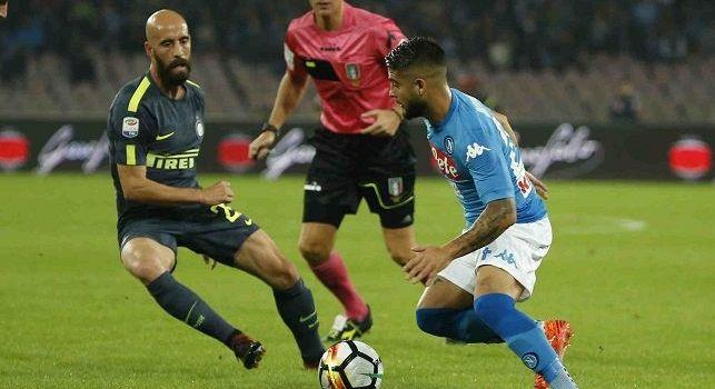 Inter, Borja Valero a Premium: Abbiamo bisogno di punti più del Napoli. La sconfitta contro la Roma non cambia il valore degli azzurri