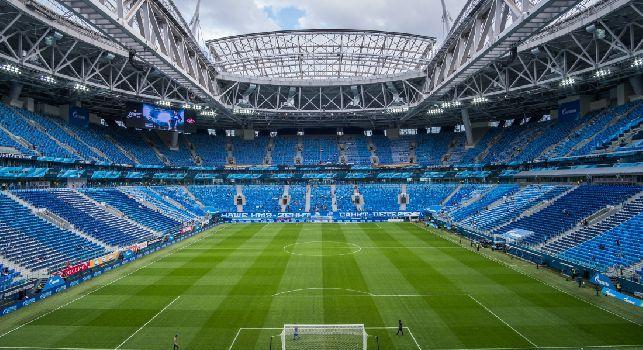 Lo stadio dello Zenit San Pietroburgo
