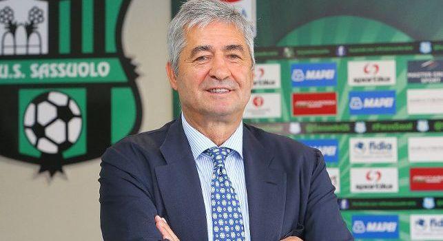 Sassuolo, l'ex ds Angelozzi: Il Napoli aveva preso Politano e Berardi ai tempi di Sarri, poi Squinzi fece saltare tutto