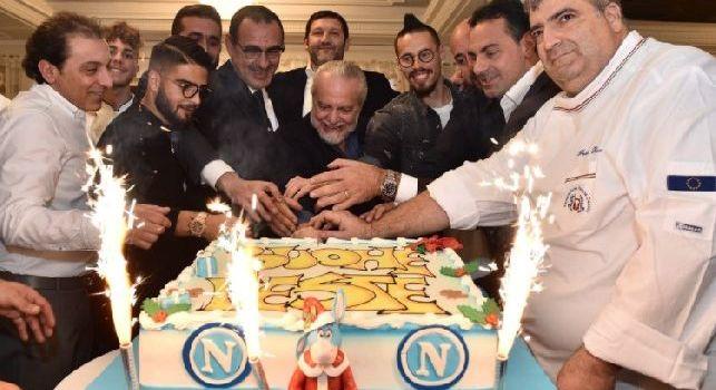 Maurizio Sarri cena natale Ssc Napoli 2017