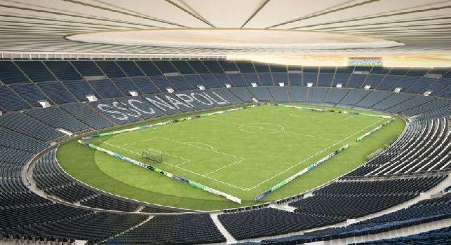 Nuovo stadio Napoli calcio