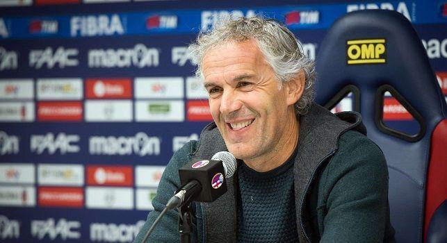 Donadoni: Hamsik? Dopo tutto quello che ha fatto per il Napoli meritava di essere accontentato. Il problema degli azzurri si chiama Juve