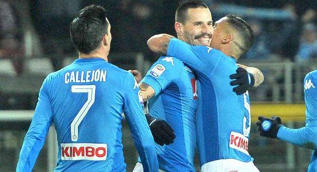 Garanzini: E' bastata la prima settimana di quiete per rivedere il miglior Napoli, azzurri presi per mano dal professor Hamsik