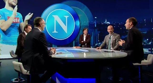 Sky Calcio Club con Mauro, Bergomi, Marchegiani, Caressa e Vialli