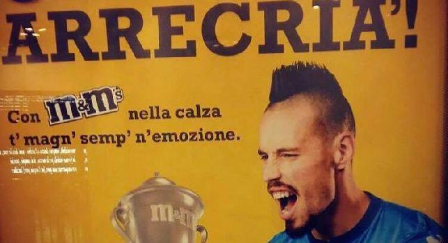 Hamsik testimonial M&M'S, lo spot <i>invade</i> Napoli: Me fann arrecri&agrave;! [FOTOGALLERY]