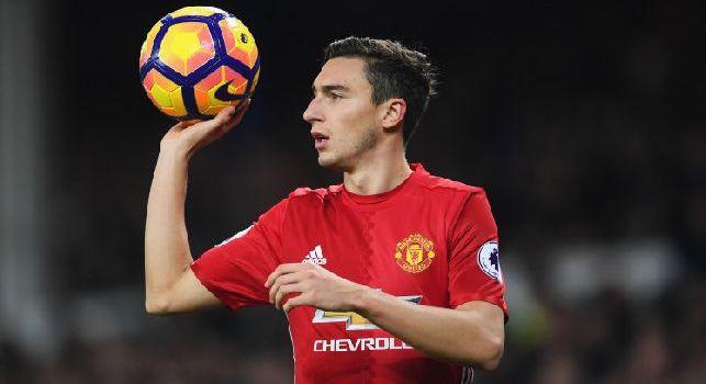 Rai - In mattinata contatto con il Manchester United per Darmian! Apertura degli inglesi ma l'obiettivo numero uno resta Vrsaljko