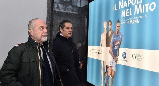 SSC Napoli, Formisano: La mostra sta avendo successo, vorremmo prolungarla. San Valentino? C'è un regalo...