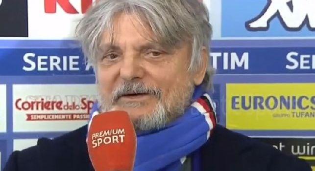 Samp, Ferrero: Ho già parlato con la Juve, vogliamo rinviare la prima giornata di campionato
