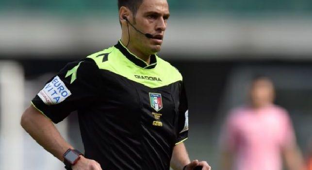 Juventus-Atalanta, designato l'arbitro del recupero: fischietto a Mariani di Aprilia