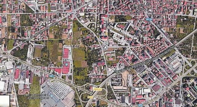 SSC Napoli a Melito, i terreni da espropriare: base d'accordo su 480mila euro