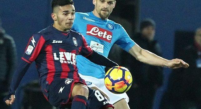 Christian Maggio in azione con la maglia del Napoli