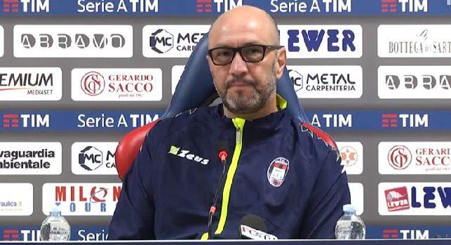 Crotone, Zenga: Cercheremo un punto contro la Juve per la salvezza. Parole di Buffon? Io avrei fatto di peggio [VIDEO]