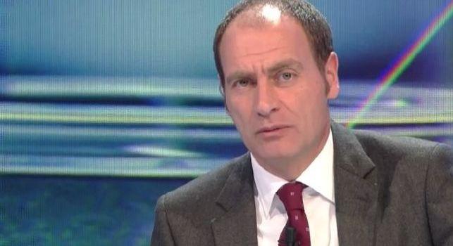 Luca Marchegiani, ex portiere, in diretta a Sky Sport