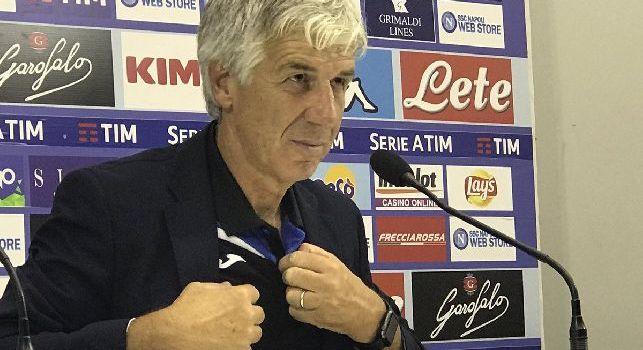 Atalanta, Gasperini in conferenza: Il Napoli ha fatto una prestazione di alto livello: il risultato ci sta tutto