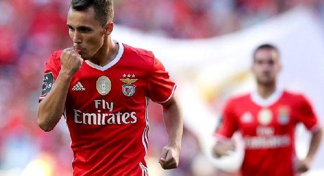 Grimaldo esulta con il Benfica