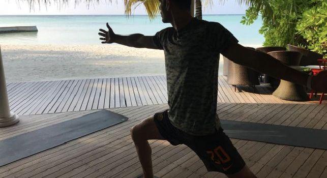 Vacanza alle Maldive, Fazio si becca gli insulti dei tifosi romanisti [FOTO]