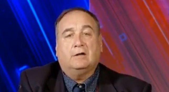 Chiariello: Il Napoli non sta in piedi e sta peggio della Juve. Sarà la solita gara con la Juve che giocherà da provinciale
