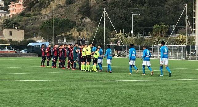 Primavera Napoli schierata contro il Genoa
