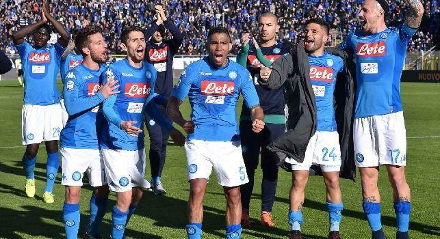 TuttoSport esalta il Napoli: 11 volte senza subire gol, record di punti e imbattibilità in trasferta da 24 gare: c'è in mente un solo traguardo!