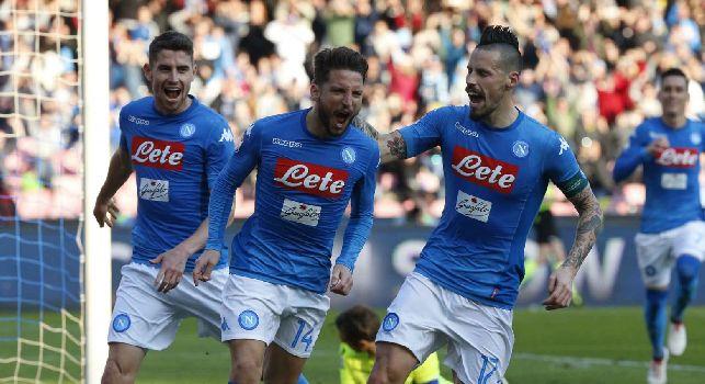 Napoli-Bologna, le pagelle: Mertens <i>alla Insigne</i>, Callejon <i>caparbio</i>! Chiriches <i>che pecche</i>, Reina <i>si fa valere</i>