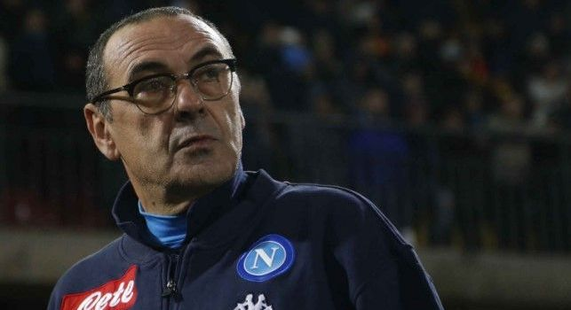 Maurizio Sarri in Benevento - Napoli
