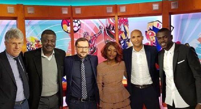 Koulibaly: Un grande piacere aver partecipato alla trasmissione Talenti d'Africa [VIDEO & FOTO]