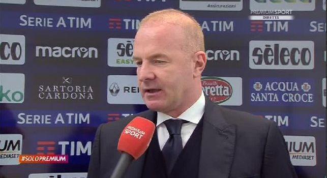 Lazio, Tare a Premium: Napoli? Possiamo battere chiunque, l'abbiamo dimostrato già contro la Juve. Vogliamo riscattarci dopo il Genoa