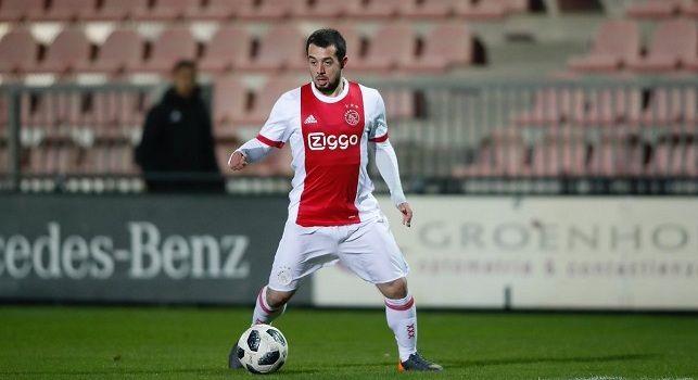 Younes con la maglia dell'Ajax