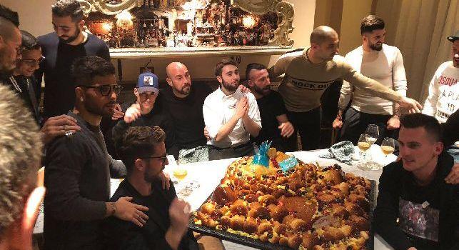SSC Napoli a cena nella Sanità da Concettina ai Tre Santi di Ciro Oliva