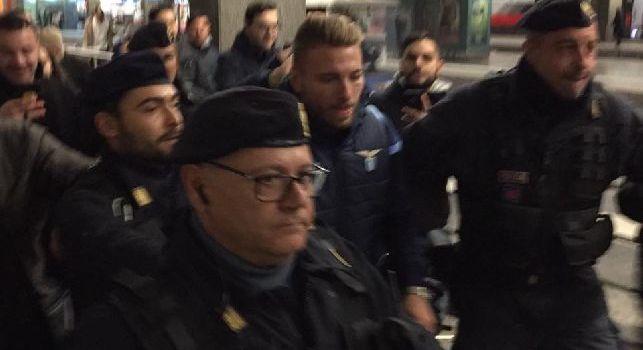 Ciro Immobile, attaccante della Lazio, arrivato a Napoli